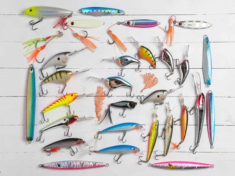 انواع لوازم جانبی ماهیگیری - لارها - طعمه های مصنوعی