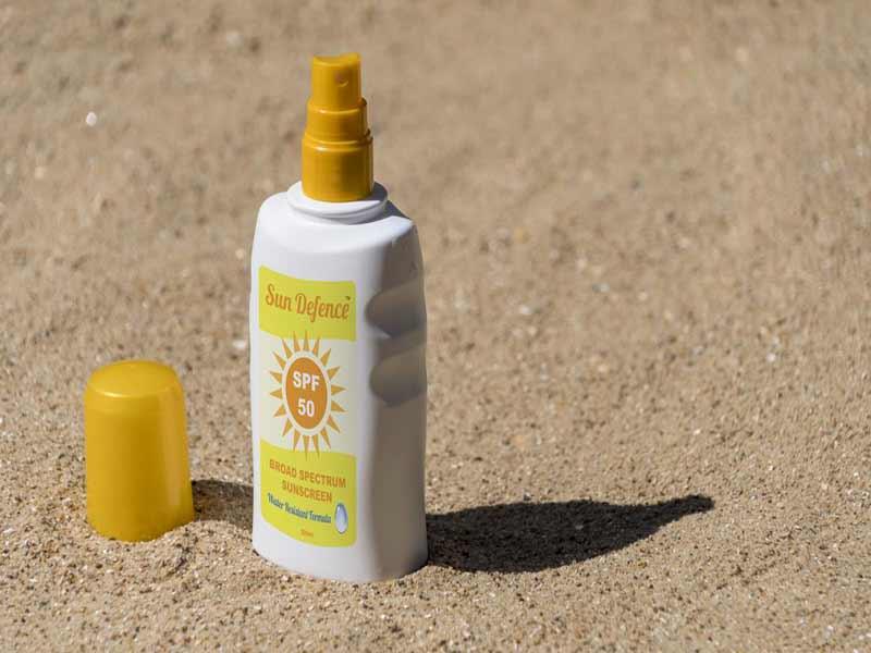 انواع لوازم جانبی ماهیگیری - کرم ضد آفتاب