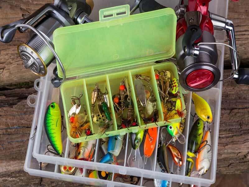 انواع لوازم جانبی ماهیگیری - جعبه ابزار