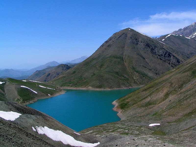 مکان های مناسب ماهیگیری - دریاچه تار و هویر