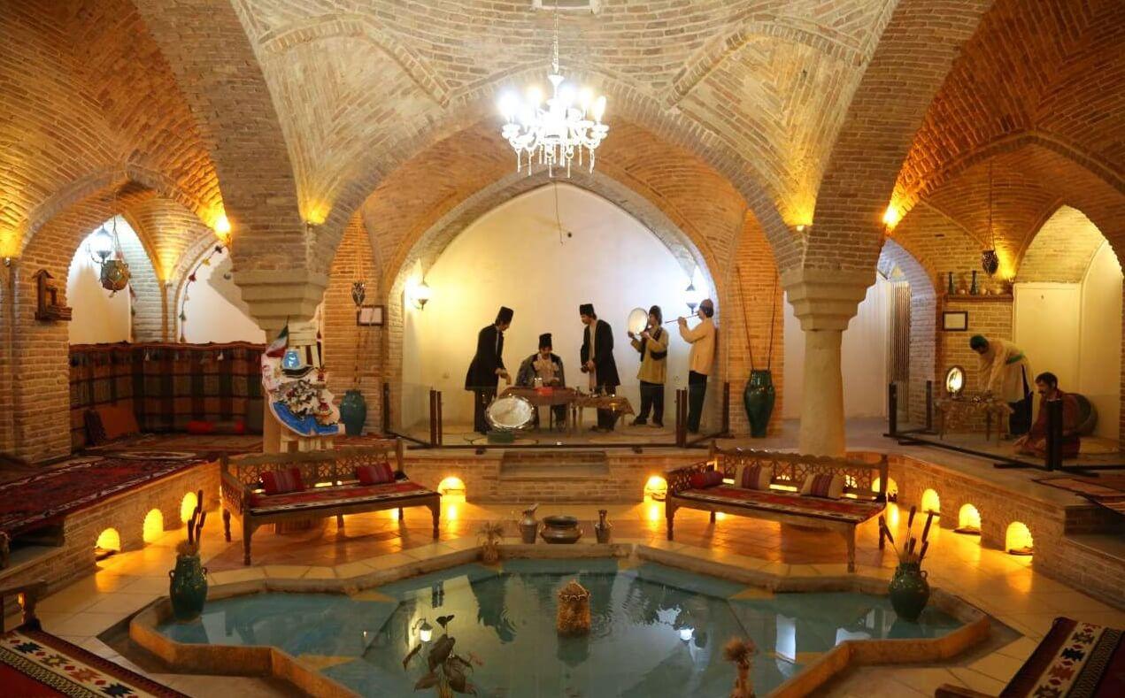موزه حمام قلعه همدان