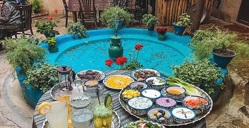 رستوران سنتی شهر شیراز