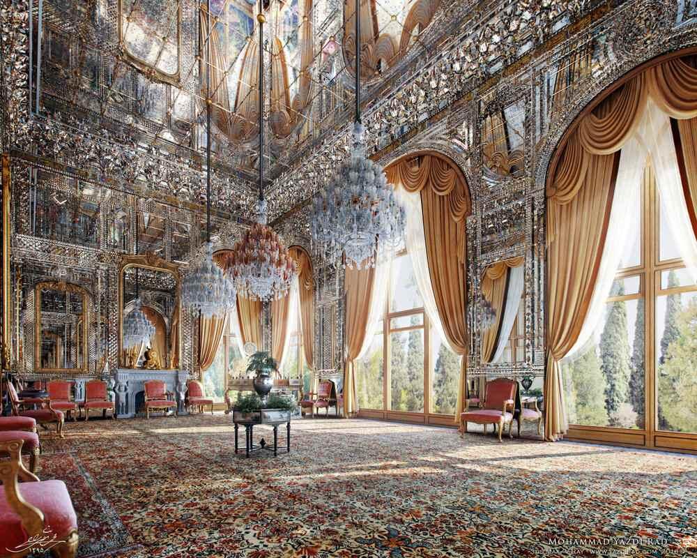 آینه کاری موزه های ایران