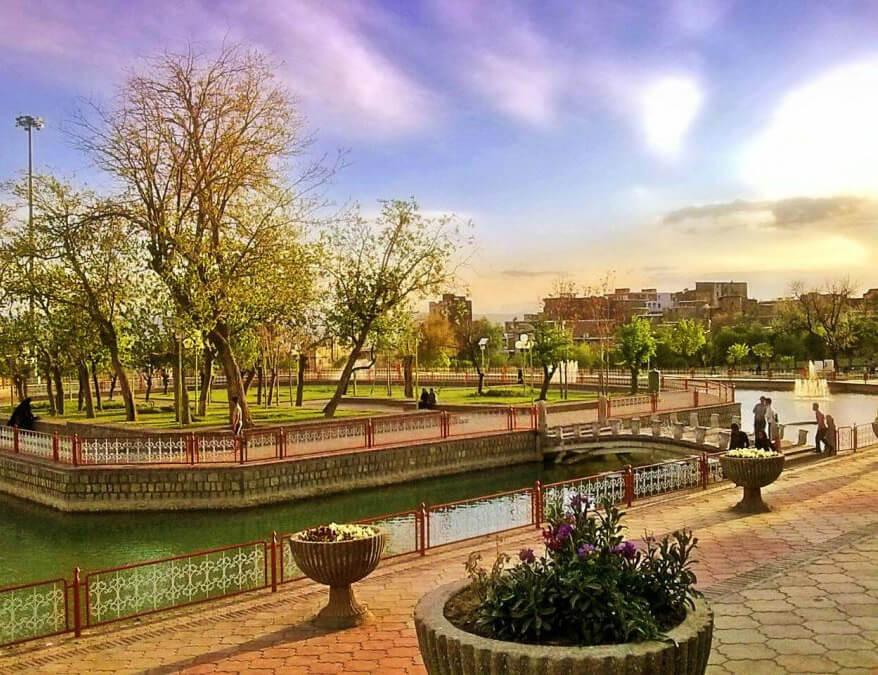 پارک های همدان