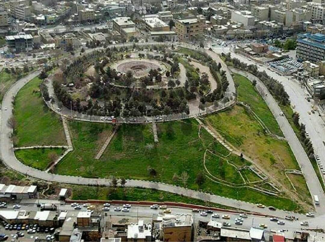 پارک شیرین کرمانشاه