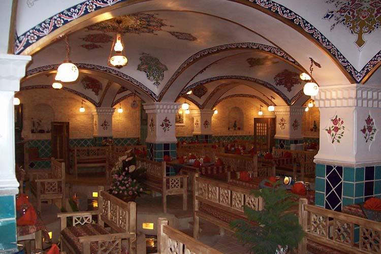 رستوران های سنتی شیراز