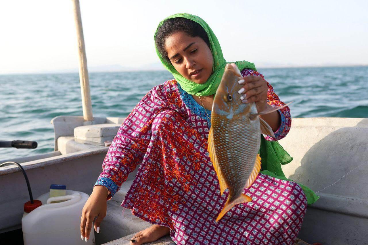 صید ماهی در قشم