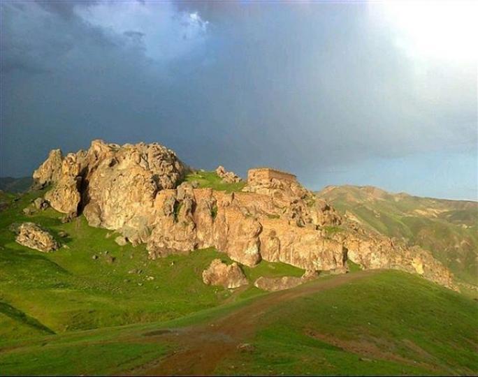 قیزقالاسی یا قلعه دختر بیله سوار اردبیل